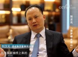 央视财经频道专访刘汉元主席,深度聚焦通威壮阔发展之路!