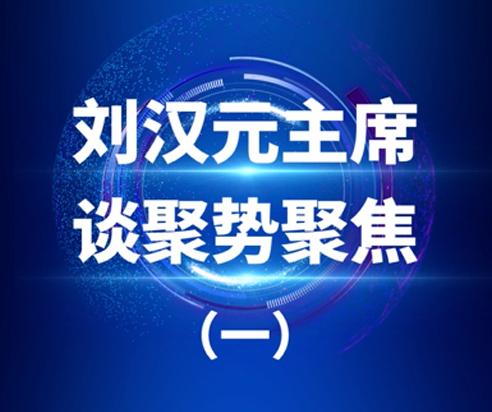 刘汉元主席谈局势聚焦之一