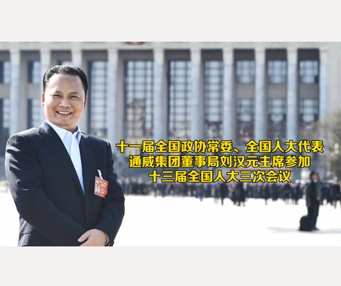 通威集团董事局刘汉元主席参加十三届全国人大三次会议