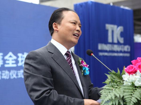 十一届全国政协常委、通威集团董事局主席刘汉元发表讲话