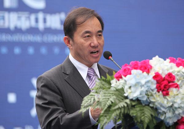 省工商联主席陈放发表讲话