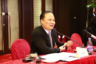 """刘汉元主席""""两会""""记者见面会在京成功举行"""